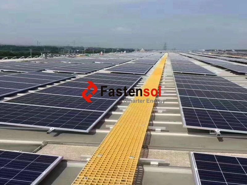 Solar Walkway FRP Moded Grating