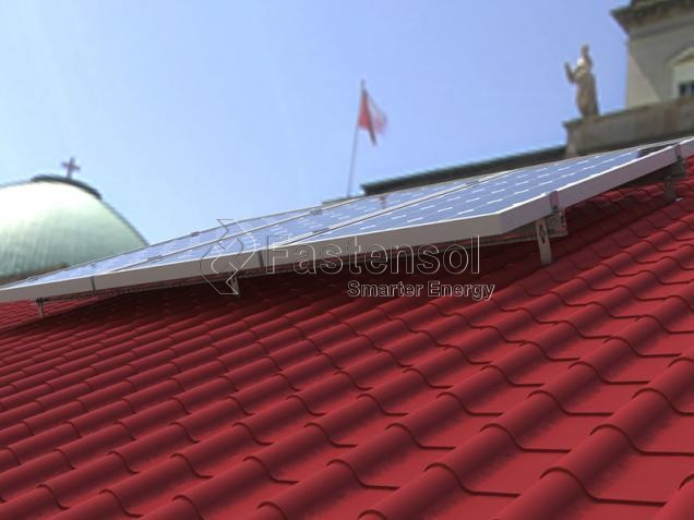 Pitched Roof Solar Mounting System manufacturer