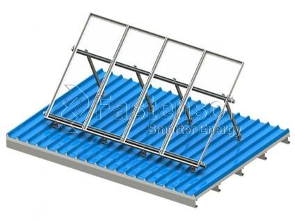 L Type Waterproof Solar Carport Mounting System,Waterproof