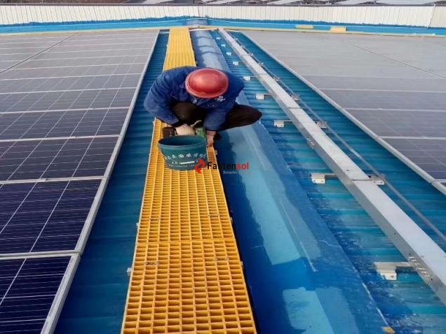 Solar Walkway FRP Moded Grating manufacturer