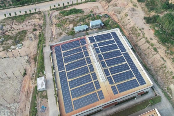 5MW Metal Roof L-Feet Solution In China