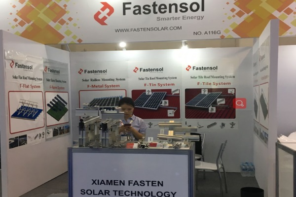 Fasten Solar Showed up at Intersolar Exhibition