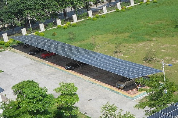 200KW carport mounting solution in China