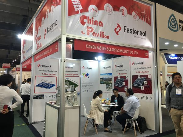 Fasten Solar- Popular Solar Structure's 2nd Day in Green Expo