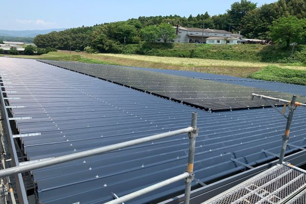 400kW Roof Clamps Solution in Japan