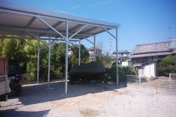 50KW Carport Mounting System In Japan